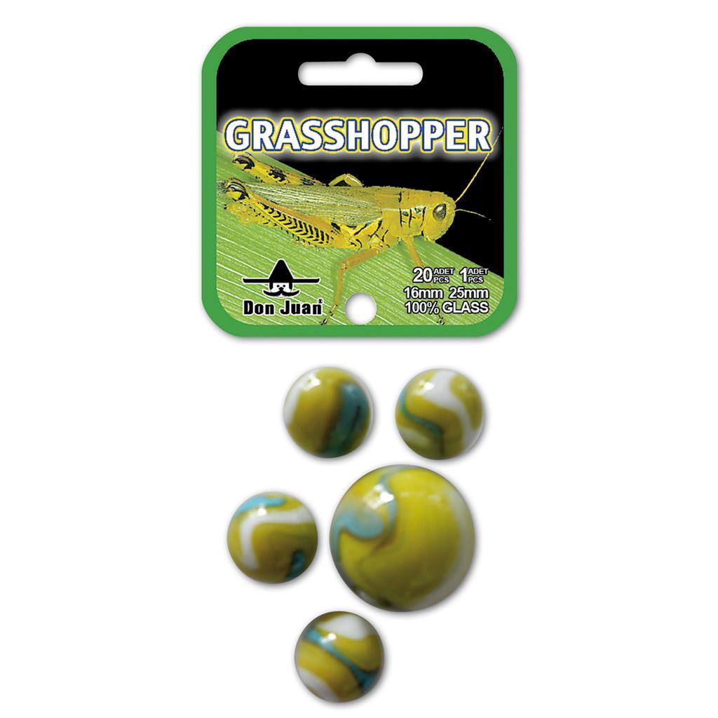 20+1 Grasshopper knikkers 4057