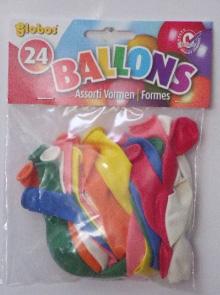 20*24 gekleurde partyballonnen BE24