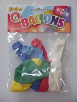 25*6 Zakjes reuzeballonnen R6