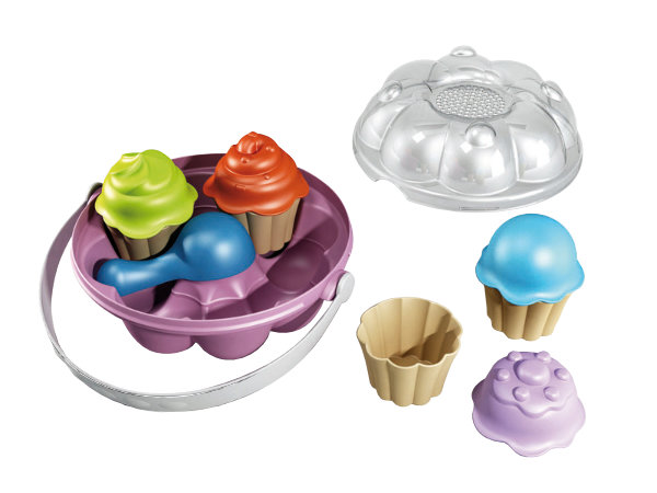 Cupcake emmerset met 4 cupcake vorm 732