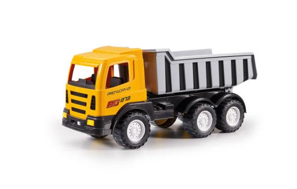Kiepauto Big geel/grijs 873