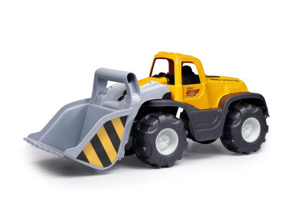 Bulldozer Mega geel / grijs 898