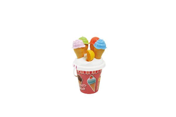 Emmerset met bedrukking ijsjes 724