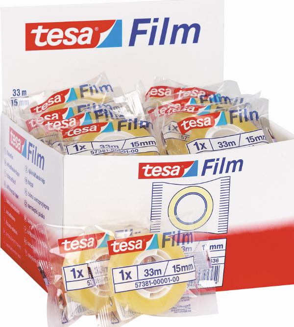 30 Tesa plakband in flowpack 33x15 57381