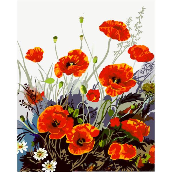 Schilderen op nummer bloem PBN5295