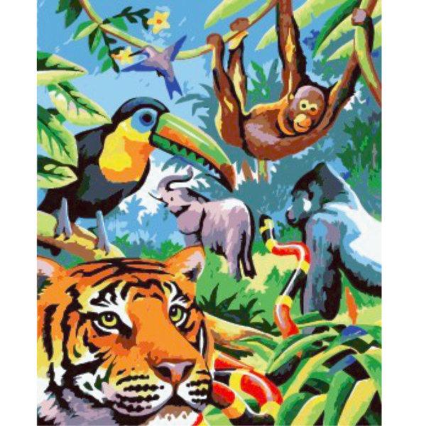 Schilderen op nummer dieren PBN5439
