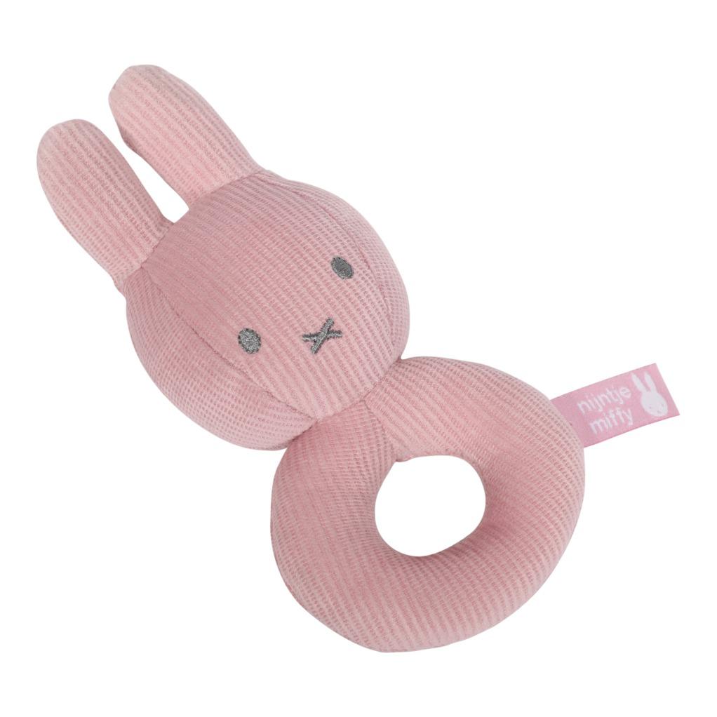 Rammelaar nijntje pink baby rib NIJN611