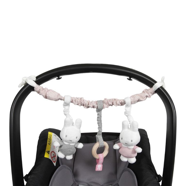 Autostoelspeeltje nijntje pink baby 617