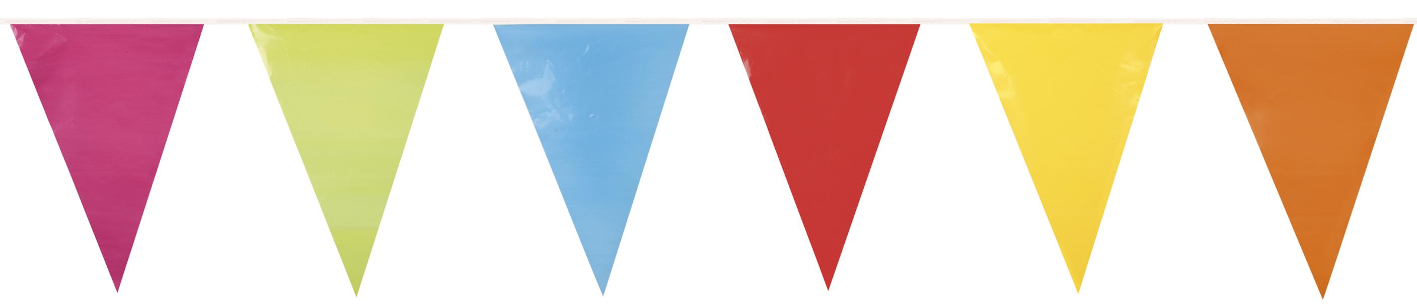 PE reuzenvlaggenlijn veelkleurig8712026747778