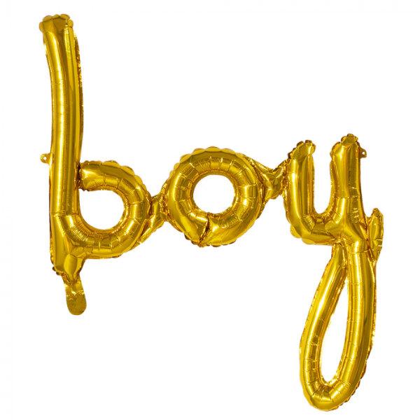 Folieballon Boy 70x60 cm 53243