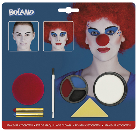 Make up kit clown 45084