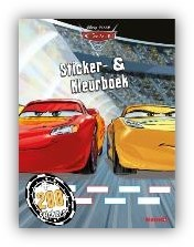 Cars sticker kleurboek Walt Disney
