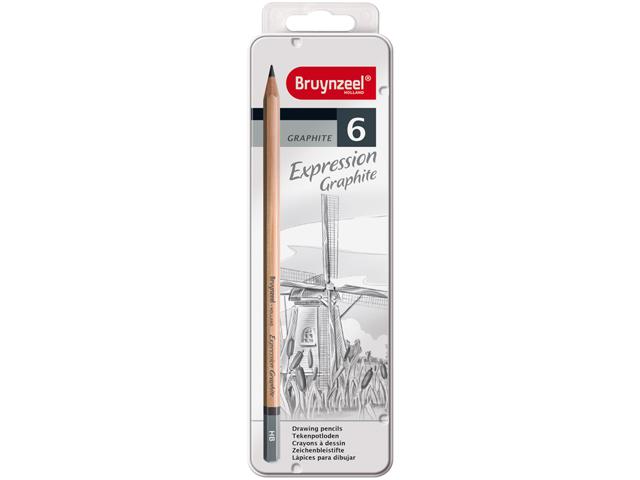 Bruynzeel expression graphite 6 7715m06