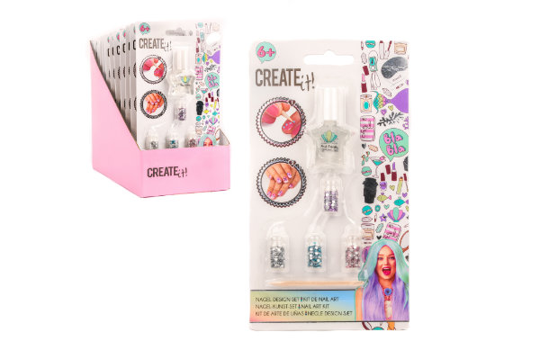 Create it! nail art kit 84103