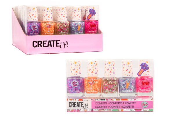 Create it! 5 nagellak confetti 84147