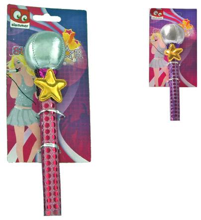 Superstar microfoon 2 ass. 54668