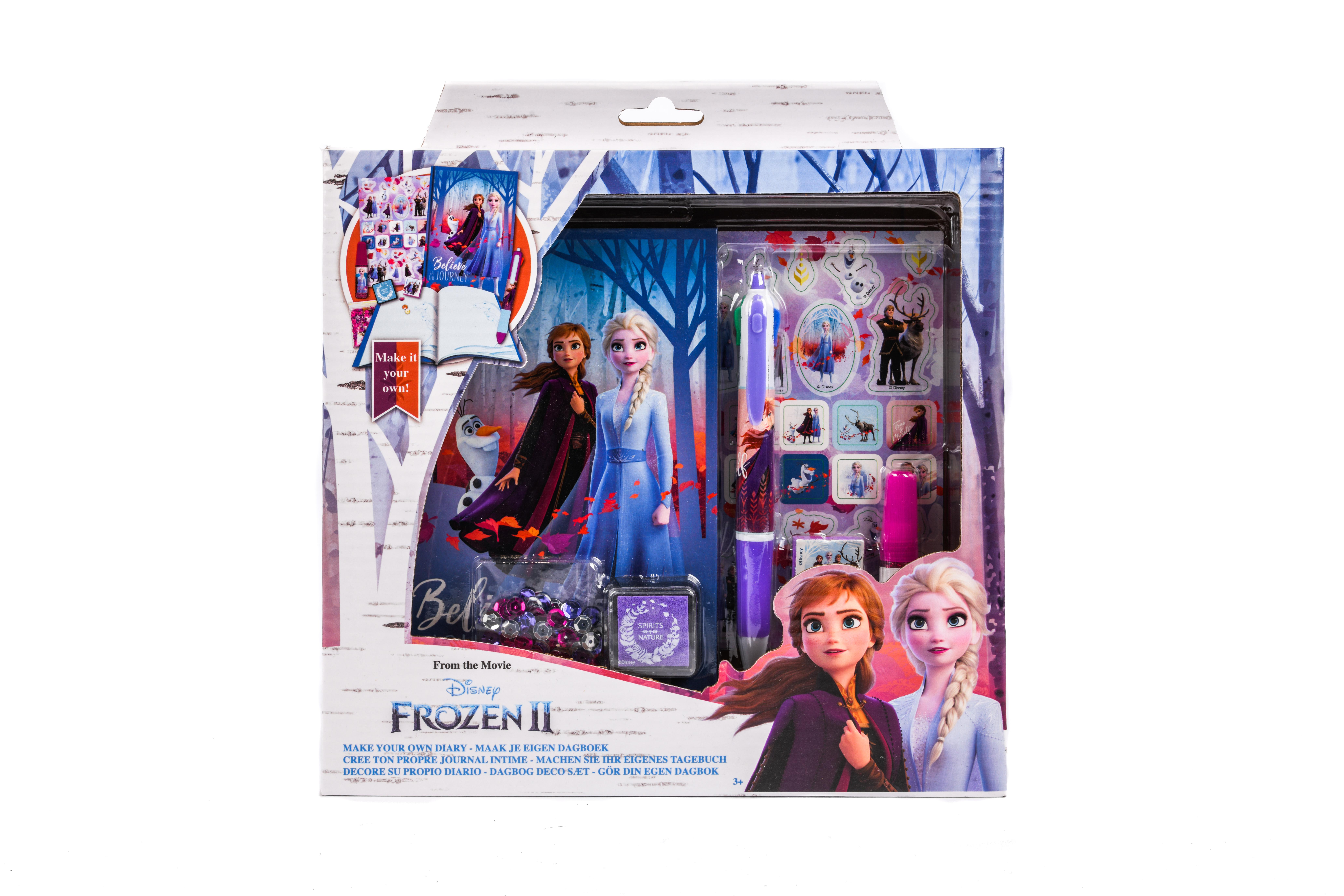 Frozen 2 dagboek ontwerp set FR19235