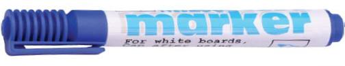 12 whiteboard marker blauw 80530