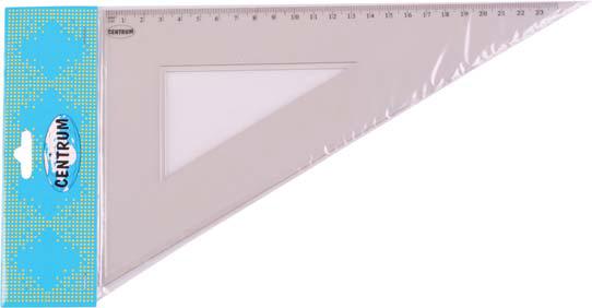 Tekendriehoek 30o*60o 23cm lengte 80728