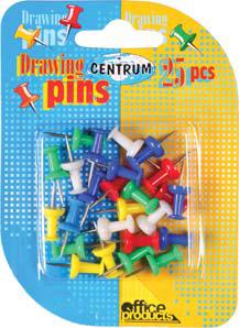 Push Pin 25 Op Kaart 80822