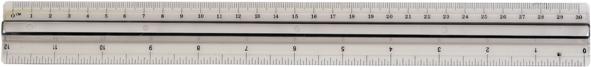 Liniaal PP+ handgreep 30cm 80843