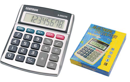 Calculator 8 digits centrum 82070