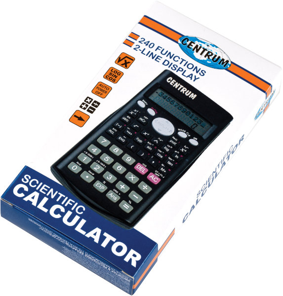Centrum calculator met 240 functies83404
