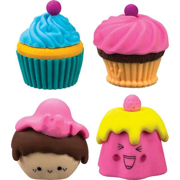 24 Cupcakes gummen in drum 89549