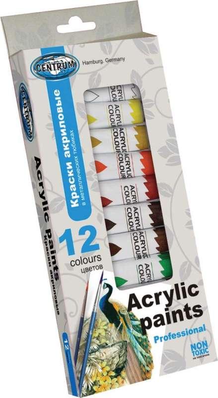 12 tubes acryl paint 83561