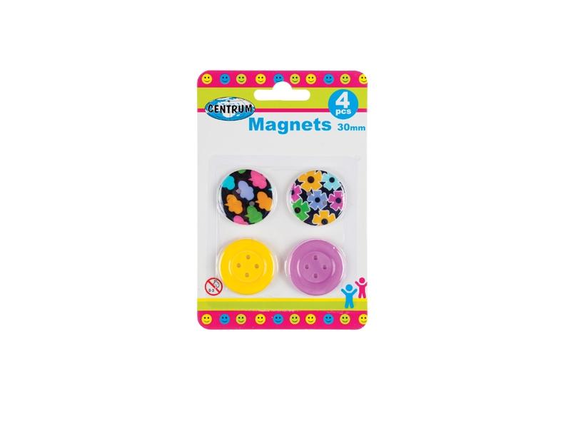 4 Whiteboard magneten 86632
