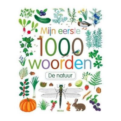Mijn eerste 1000 woorden de natuur 17,95