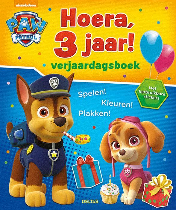 Nickelodeon paw patrol 3 jaar 5,95 adv.