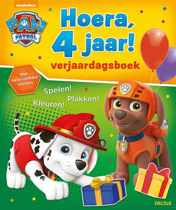 Nickelodeon paw patrol 4 jaar 5,95 adv.