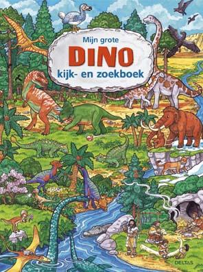 Mijn grote dino kijk-zoekboek