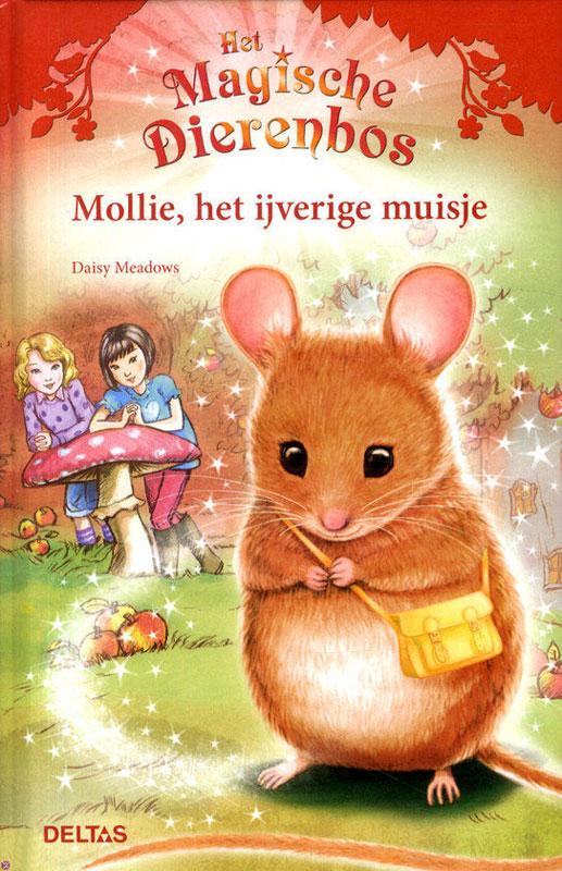 Magische dierenbos Mollie muis adv. 9,95