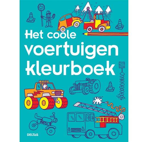 Het coole voertuigen kleurboek adv.4,99