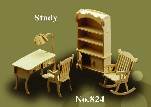 Bouwdoos Studeerkamer 824