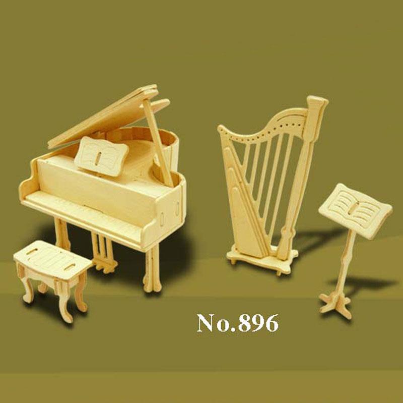Bouwpakket hout Muziek 1:12 896