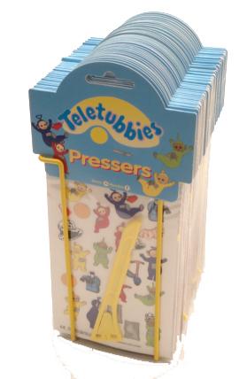 Teletubbies Pressers (Wrijfplaatjes)