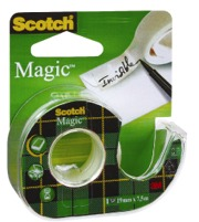 Scotch magic tape 19mm X 7.5m met houder