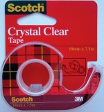 Scotch transparant tape 19mm X 7.5m met