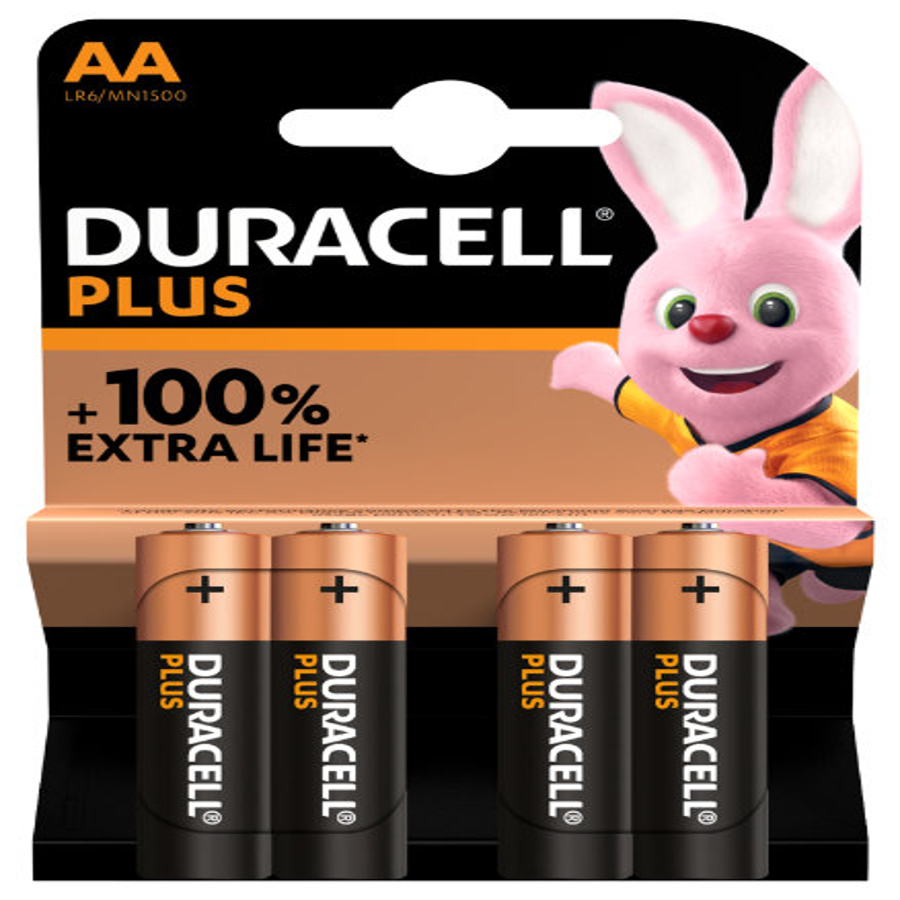 20X4 Duracell penlite batterij 10500039499836