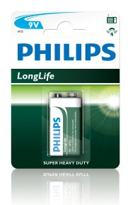 Philips Longlife 9v             6F22