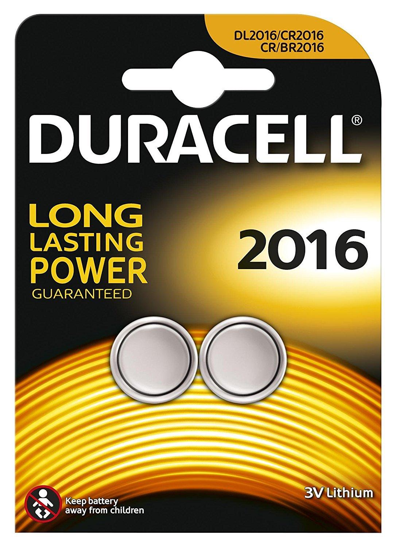 10*1 Duracell Lithium CR2016 3V
