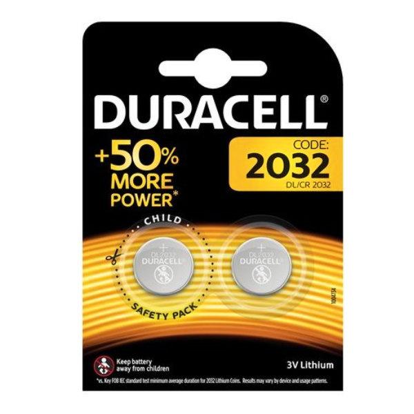 10*1 Duracell Lithium CR2032 3V