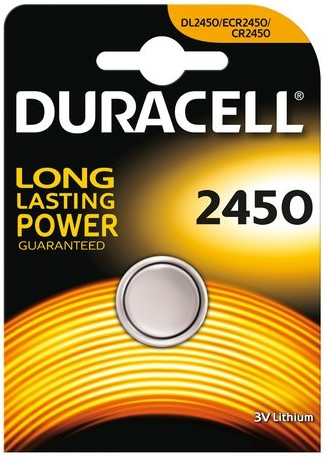 10*1 Duracell Lithium CR2450 3V