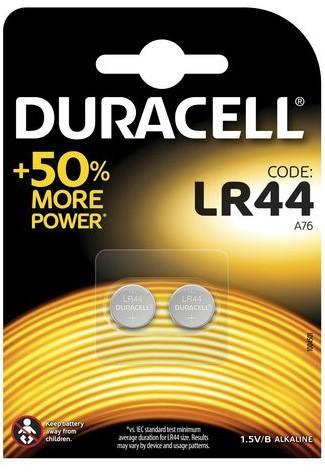 10*2 Duracell Alkaline LR44 3V