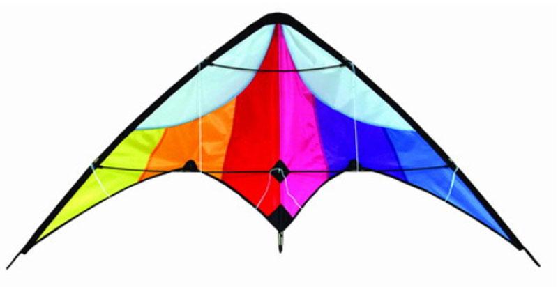 Delta stunt vlieger rainbow II 02261