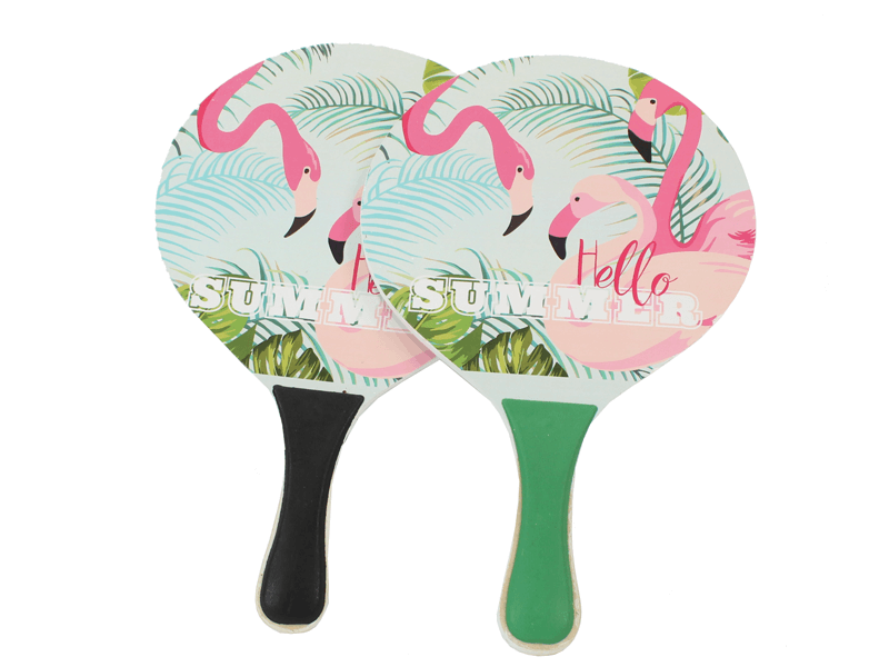 Beachballset Flamingo dessin 2ass. 04209
