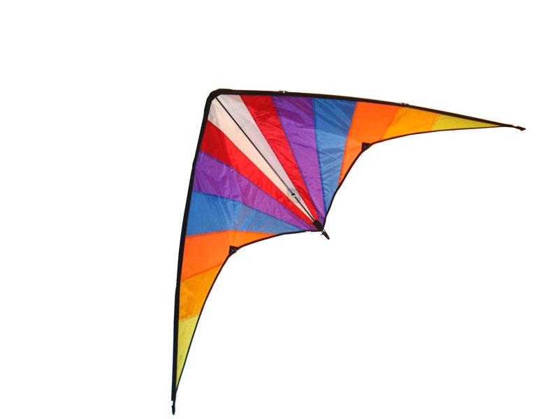 Delta stunt vlieger rainbow XL 02224